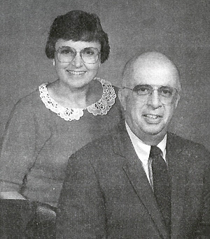 Photograph of William B. and Nancy Ambrose